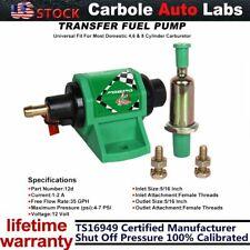 "Carbole New Universal 4-7 PSI Auto Micro Electric Diesel Fuel Pump 12 Volt 5/16"""