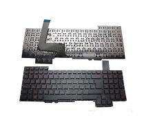 NEW UK Keyboard Red Letter for ASUS G751 G751J G751JL G751JM G751JT G751JY