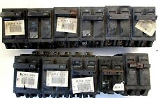Lot Of 11 Different Kind Of 50-Circuit Breaker
