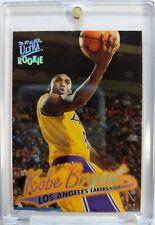 Rare: 1996-97 Fleer Ultra Rookie Kobe Bryant #52, Rookie RC, Insert, Lakers
