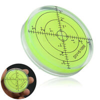 New Spirit Bubble Degree Mark Surface Level Round Circular Measuring Meter Tool