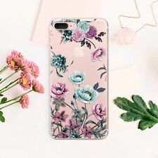 Poppies iPhone 11 XS Cover Floral iPhone X 7 8 Plus Case Transparent iPhone XR