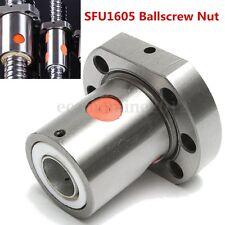 12mm Diam Ballscrew Ball Nut Flange Bearing Steel For RM1605 SFU1605 Ball Screw
