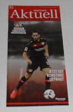 Programm Bayer Leverkusen - SC Freiburg 03.12.2016 - 1.Liga 2016/2017