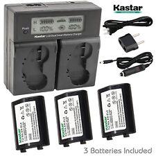 Kastar EN-EL4 Battery&LCD Charger for Nikon D2Z D2H D2Hs D2X D2Xs D3 D3S D3X F6