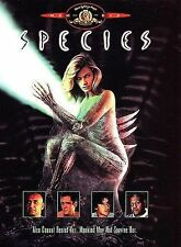 Species (DVD, 1997, Standard and Letterbox Movie Time)
