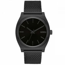 Nixon Time Teller Milanese All Black Watch A1187-001 / A1187 001 / A1187001