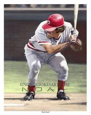 "Pete Rose Cincinnati Reds ""Charlie Hustle"" Sports Art Print by Noah Stokes"