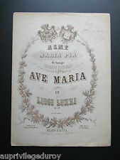 AVE MARIA de LUIGI LUZZI, op. 30