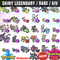 Pokemon Sword & Shield ✨ALL Ultra Shiny LEGENDARY Bundle (31)✨6IV FAST DELIVERY