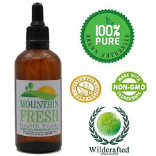 Organic Mangosteen Concentrated Max Strength 1:1 50ml Non Alcoholic Tincture