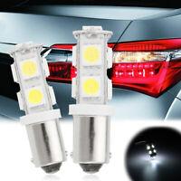 2x H6W BAX9S 9 LED 12V Ampoule Veilleuse Feux Position Freinage Blanc 6000K Auto