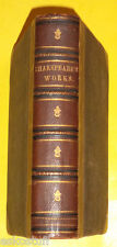 RARE Works of William Shakspeare 1868 Frederick Warne & Co. Antique Book See!