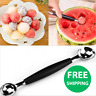 Novelty Double-End Melon Ice Cream Baller Scoop Fruit Spoon Kitchen Tool Gadget