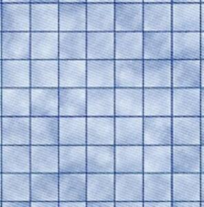 Dolls House Miniature Blue Marble Tile Effect Flooring 1:24 Paper