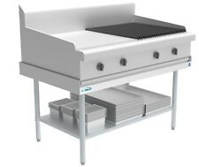 Stainless Steel Commercial Equipment Stand 30 X 48 16 Guage Griddle Stand