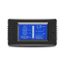 2X(0 200V 10A Voltmeter Ammeter Digital Battery Tester Built In Shunt X8F1)