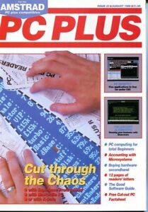 D131716 PC Plus Vintage Computer Magazine Issue Nr. 23 August 1988