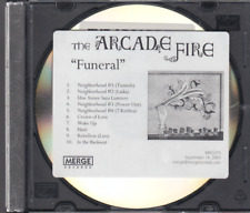the arcade fire funeral cd promo