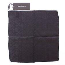 NWT DOLCE & GABBANA Blue Silk Handkerchief Pochette Square Pocket 30cm x 30cm