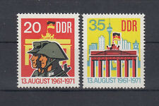 DDR 1691-1692 (10 Jahre Berliner Mauer) ** (454)