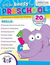 NEW 256-Page Let's Get Ready for Preschool Educational Workbook