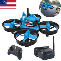 Blue Shark FPV Racing Drone with 5.8G 40CH 1000TVL Camera  Goggles RC Quadcopter