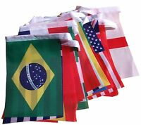 10M Long Football World Cup Cloth Bunting Street Party Decoration Pub Bar