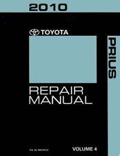 2010 Toyota Prius Shop Service Repair Manual Volume 4 Only