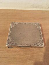 Antike Deckeldose 900 Silber, Dose, Pillendose, Visitenkarte