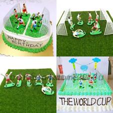 Cake Football Figure Birthday Decoration 9 Soccer Players Toppers Cupcake New