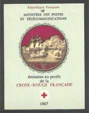 N°2016 - Carnet Croix-Rouge 1967