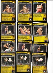 WWE RAW DEAL - 30X Card Submission Maneuver LOT *FREE SHIPPING*