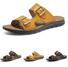 Summer Mens Beach Flats Slippers Shoes Open Toe Walking Sports Non-slip Casual B