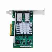 Intel 82599ES 10Gbps Dual Port PCI-E X520-DA2 E10G42BTDA Ethernet Server Adapter