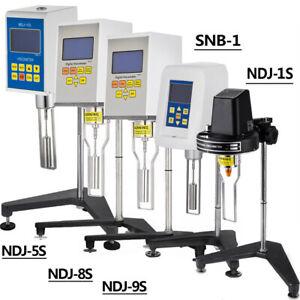 VEVOR Digital Rotary Viscometer Fluidimeter Multiple Attributes Tester Meter