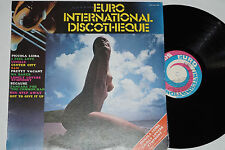 Euro International Discotheque-LP NUDE COVER/ITALY Pressage Near Comme neuf