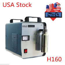USA!!! H160 75L Oxygen Hydrogen Flame Generator Acrylic Polishing Machine 110V