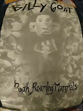 Vintage Billy Goat Bush Roaming Mammals Promo Poster