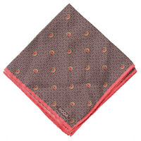 Lord R Colton Masterworks Pocket Round Ruby Slate 2nd Law Silk  $75 Retail New