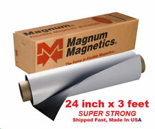 """Magnum Magnetic 24""""x3 feet .30mil Super Strong Flexible Material"""