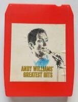 Andy Williams Greatest Hits 8 Track Stereo Tape Cartridge - Columbia - Born Free