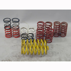 Lot of Assorted BMW E36 M3 Rear Race Track Coil Springs 6 Pairs 60mm Eibach HR