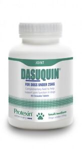 Dasuquin for Small / Medium Dogs Under 25kg (80 Chewable Tabs) Sent Royal Mail