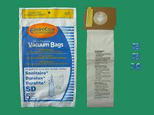5 Sanitaire SD 63262 Electrolux Vacuum Cleaner Bag #SC9180 Duralux Professional