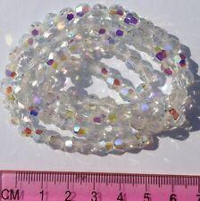 Vintage crystal glass  beads