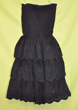 Gilly Hicks Navy Blue Strapless Dress Size  XS