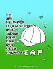 Topi Nama Buku Mewarnai Belajar Bahasa Inggris Untuk Anak-Anak Dewasa Rumah...