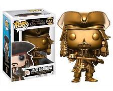 Pirates of the Caribbean Jack Sparrow Gold Exclusive Funko Pop! Vinyl #273