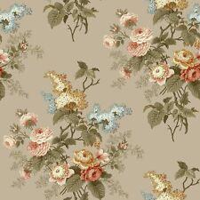 York Wallcoverings ER8182 Waverly Cottage Emma's Garden Wallpaper